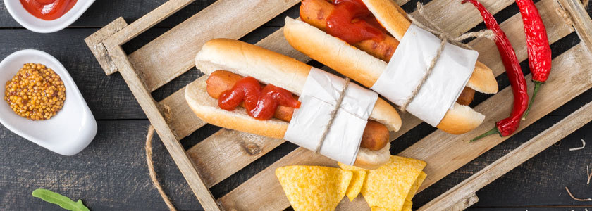 hot dogs burger edna international gmbh online kaufen. Black Bedroom Furniture Sets. Home Design Ideas