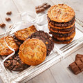 Triple-Chocolate Cookies, Teigling