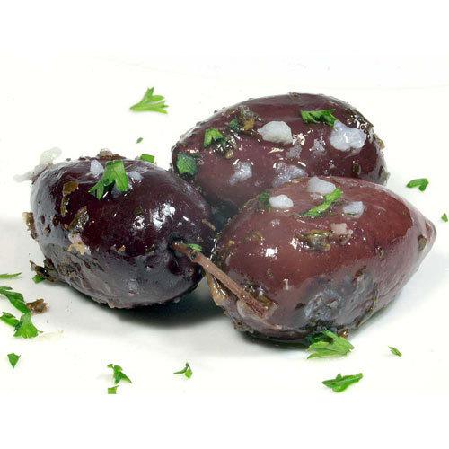 kalamata oliven mit knoblauch und kr utern online kaufen. Black Bedroom Furniture Sets. Home Design Ideas