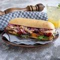 FF-Ciabatta mit Sandwichschnitt