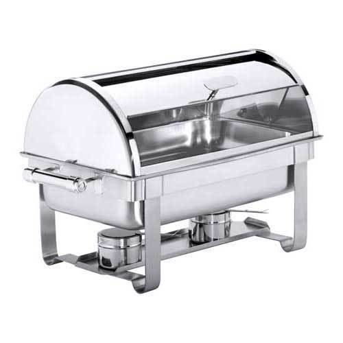 "Roll Top Chafing Dish GN 1/1 ""Exclusiv"", silber"