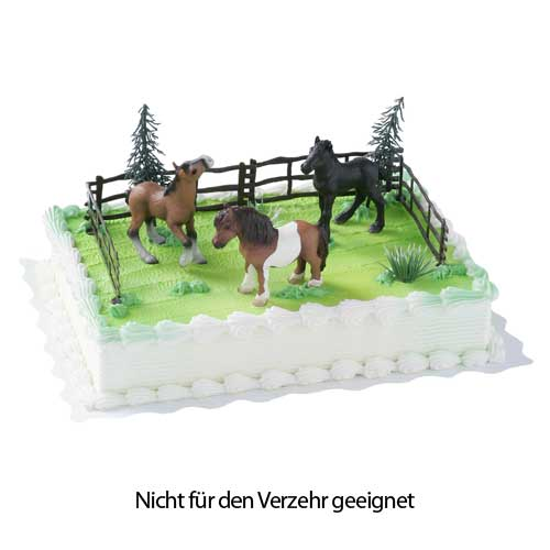tortendekoration pferde online kaufen. Black Bedroom Furniture Sets. Home Design Ideas
