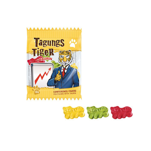 "Fruchtgummi ""Tagungs-Tiger"""