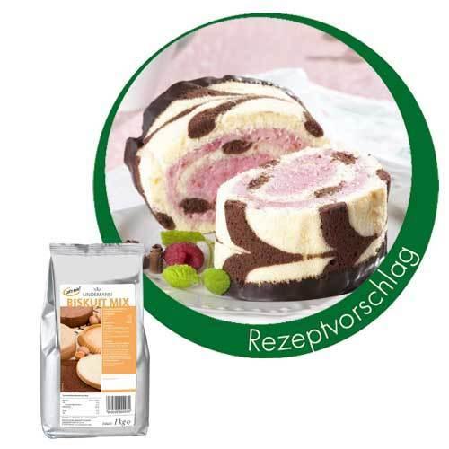 Biskuit Mix 1000 G Backmischung Bäckereiausstattung