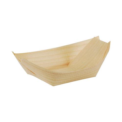 Schiffchen 11 x 7 cm 4000 Fingerfood-Schale aus Holz