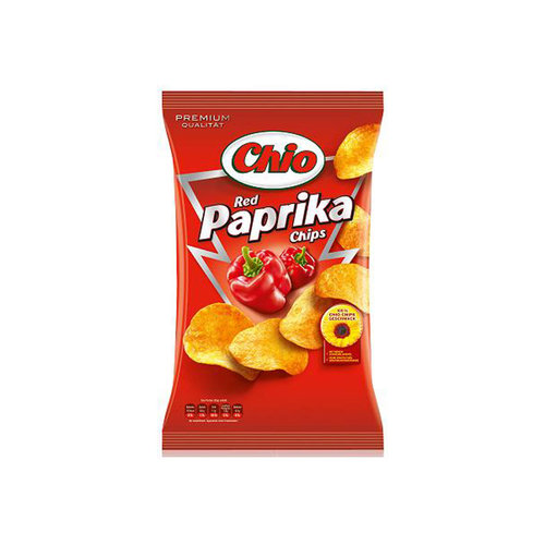 Chio Red Paprika Chips, 30 g