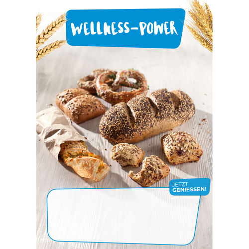 "Plakat ""Wellness-Power"", DIN A1"
