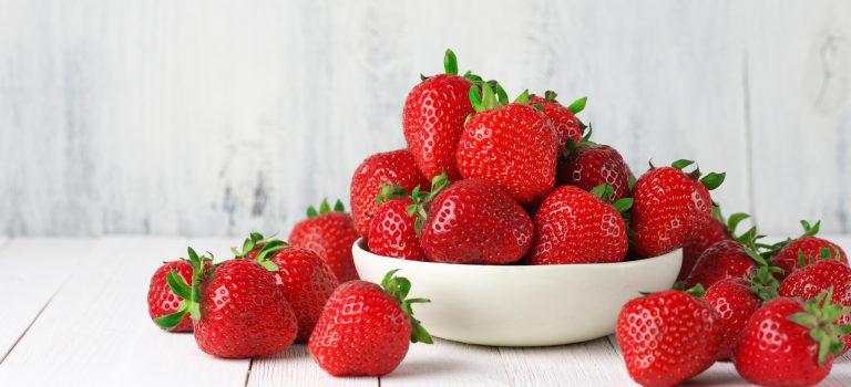 Erdbeeren – aber bitte mit Salz!