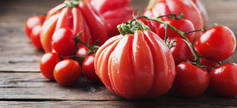 Brotsalat mit Tomate