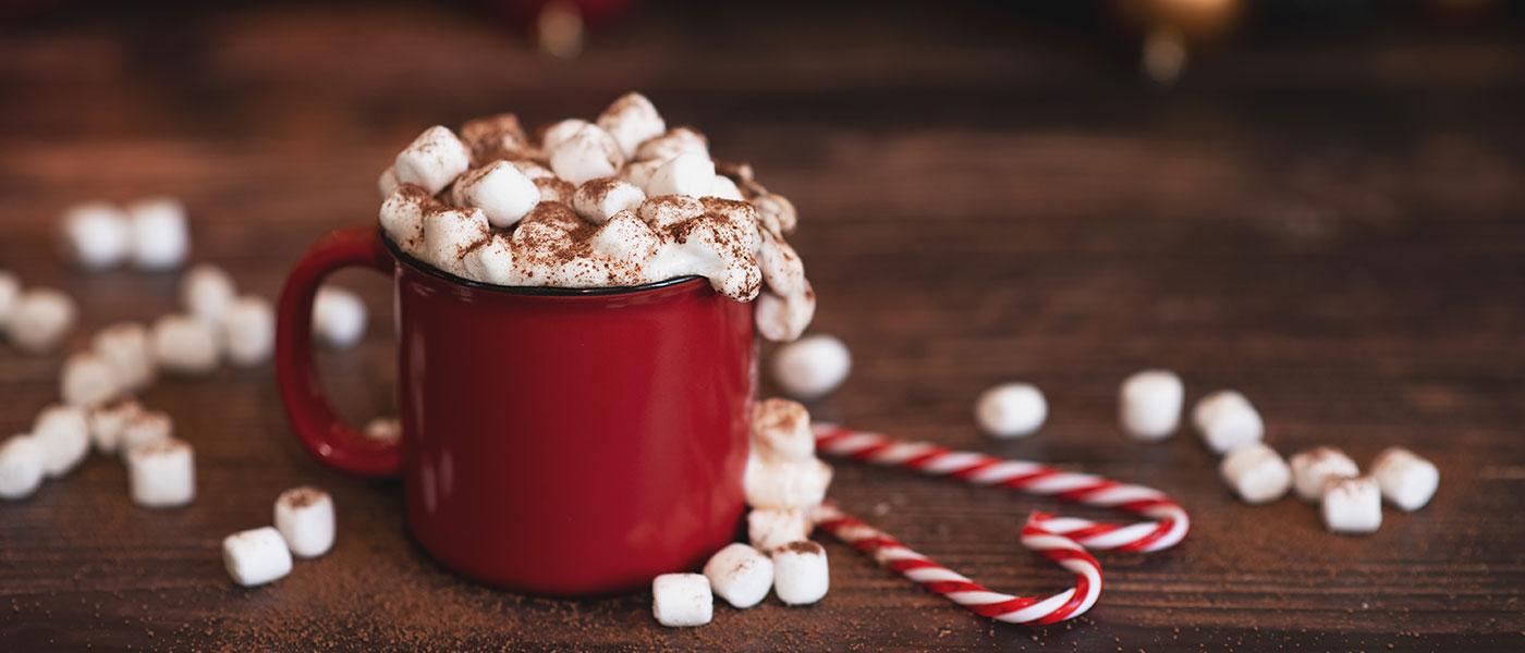 Hot Chocolate Schokolade am Stiel Weihnachten Marshmallow
