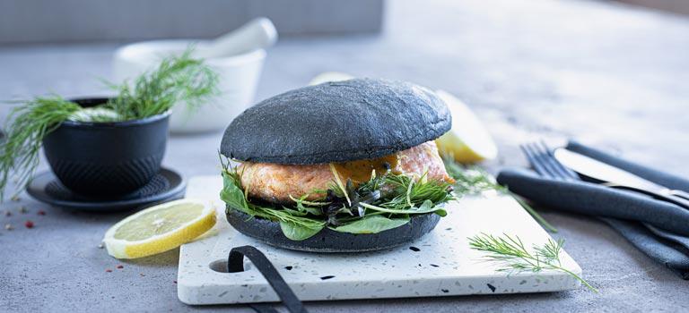 Vitaminbombe Lachs-Burger